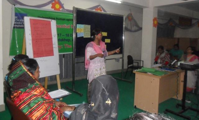 দি হাঙ্গার প্রজেক্ট-বাংলাদেশ এর আয়োজনে আবশ্যকীয় পুষ্টিবার্তা শীর্ষক প্রশিক্ষণ অনুষ্ঠিত