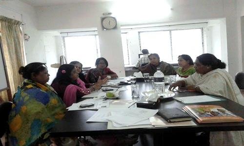 'বিকশিত নারী নেটওয়ার্ক'-এর কেন্দ্রীয় কার্যনির্বাহি কমিটির সভা